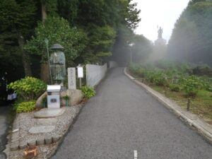 雲辺寺(66番)山頂駅の笠